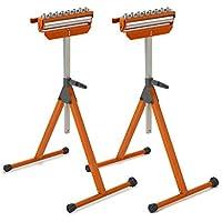2-Pack Bora Portamate Tri Function Pedestal Roller Stand