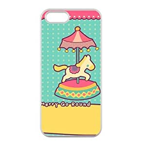 Welcome!Iphone 5/5S Cases-Brand New Design Merry Go Round High Quality TPU For Iphone 5/5S 4 Inch -05