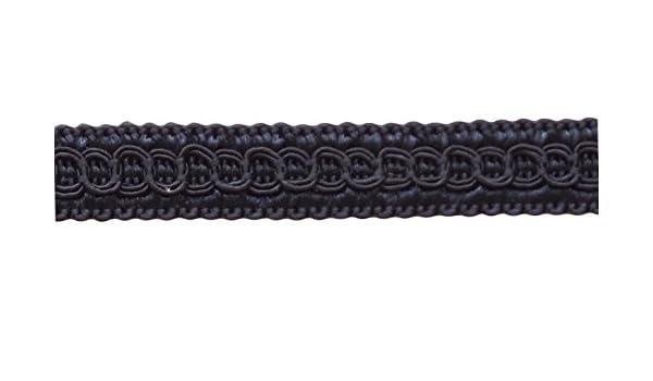 Style# 0050SG Color: Dark Dark Navy Blue D/ÉCOPRO 13.5 Yards of 1//2 inch Basic Trim Decorative Gimp Braid 41 Ft // 12.5 Meters J3,