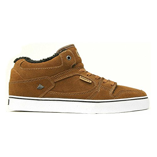Emerica  Hsu, Basses homme - Marron - Brown/White/Brown, 39.5