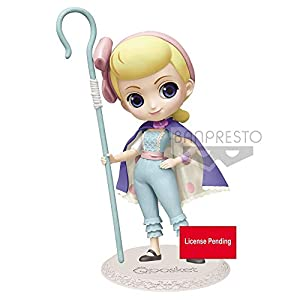 Banpresto 15987 Disney Pixar Q posket Toy Story 4 Bo Peep Ver.2 (Pastel Color) Figure