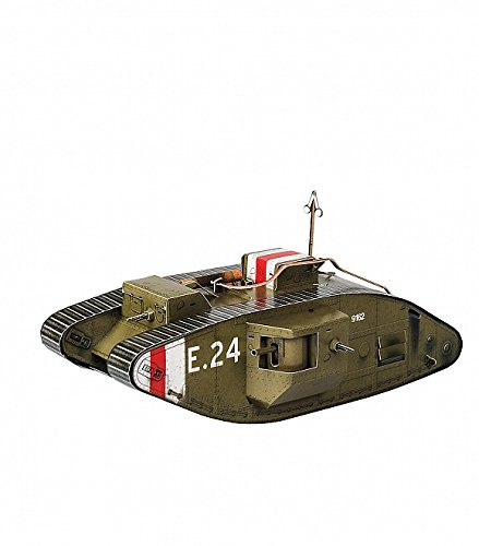 - UMBUM 364-1 Innovative 3D Puzzle by Clever Paper WAR Games British Tank Mark V - 60 Parts Lenght 9.5