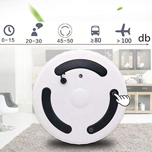 (Chezaa Robotic Vacuum Cleaner Automatic Humidifier,Air Diffuser Purifier Atomizer,Perfect for Home,Office,Living Room,Bedroom,Solve Dry Skin (White))
