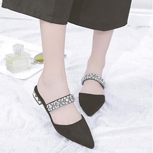 Donna Con Tacco Alto Toe Open Zeppa Pizzo Donna Scarpe Donna sandali Da Col Eleganti sandali Sandali Nero Sexy In ❤promozione tqTn14z5Wx