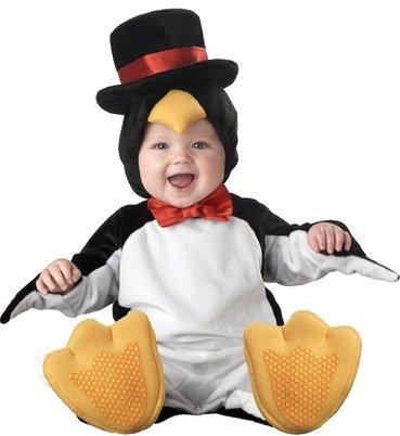Costume da pinguino di classe per bebè travestimento carnevale halloween  cosplay tuta e copricapo stivaletti con 3dcf97515b53