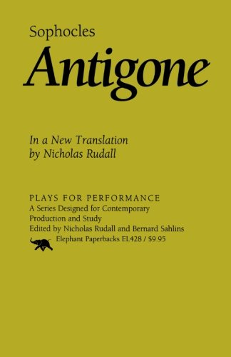 Antigone: In a New Translation (Plays for Performance Series)