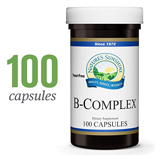 (Nature's Sunshine Vitamin B-Complex, 100 Capsules | B Complex Vitamins Nourish The Nervous System and Help with Specific Enzyme Reactions)