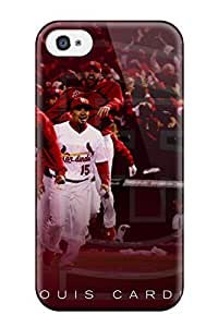 Diy Yourself Awesome DanRobertse Defender Tpu case cover For lzoeTlGfaks Iphone 4/4s- St_ Louis Cardinals