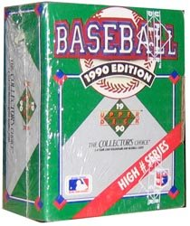 - 1990 Upper Deck High Number Series Baseball Factory Set - 100C