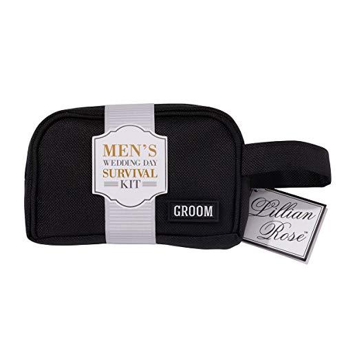 Lillian Rose TR100 GR Groom Survival Kit, Bag Measures 5.25