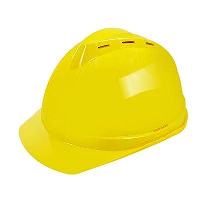 Casco de Seguridad - Casco de construcción ABS anticolisión de Alta Resistencia/Alta Temperatura/