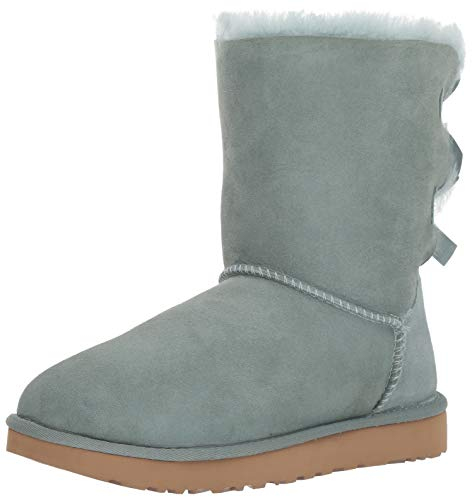 - UGG Women's W Bailey Bow II Fashion Boot, sea Green, 10 M US