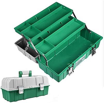 Caja Herramienta 3 Bandejas,Maletín Para Herramientas De Plástico ...