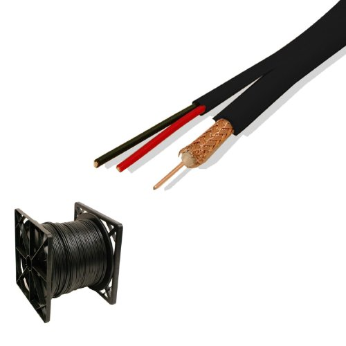 (500 Ft Rg59 Siamese Cable Cctv Video Power 95%)