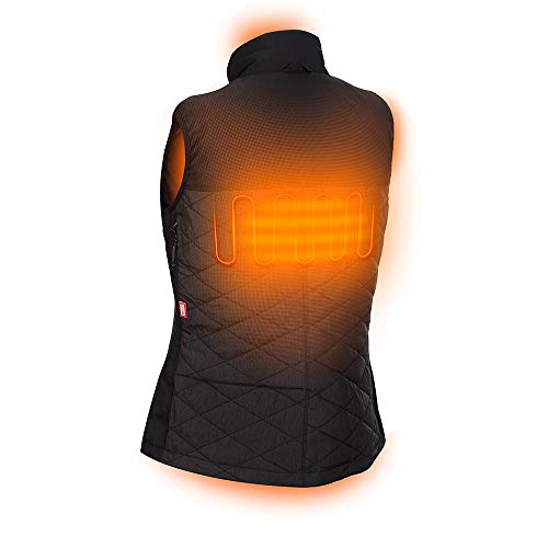 Milwaukee M12 Heated AXIS Vest Lithium-Ion Front and Back Heat Zones - Black (Medium, Womens Vest Kit-Battery & Charger Included) by Milwaukee (Image #2)