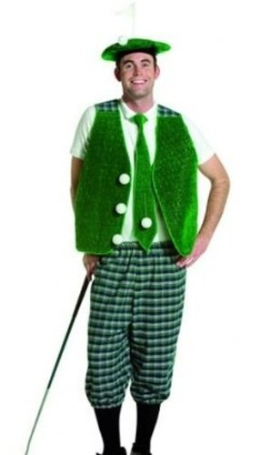 Golfer Hole in One Pub Golf Fancy Dress Costume - Large  Amazon.co ... 2e9ce6603ce0