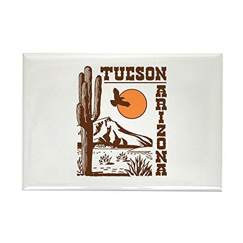 (CafePress Tucson Arizona Rectangle Magnet, 2