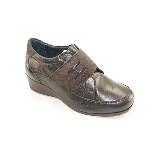 Hergos Marron chaussure Testa 9000 Di Élégant H Moro Et Confortable Bn1Bp7wa