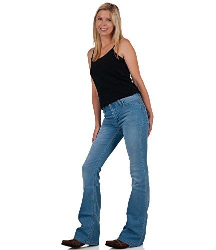 Cut Unita Boot Jeans Tinta Comycom Blu Donna EwP8qW