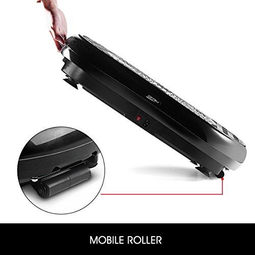 GENKI Fitness Vibration Platform Workout Machine Whole Full Body Shape Exercise Training Power Plate (Black) by GENKI (Image #8)