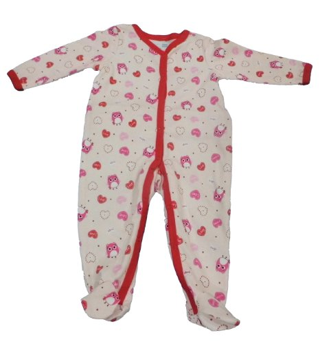 Vitamins Baby Baby-Girls Hugs and Kisses Coverall, Pink, 9 Months