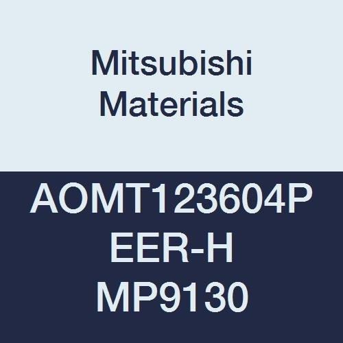 Class M 0.016 Corner Radius Pack of 10 Parallelogram 85/° Grade MP9130 Mitsubishi Materials AOMT123604PEER-H MP9130 Coated Carbide Milling Insert 0.142 Thick Round Honing