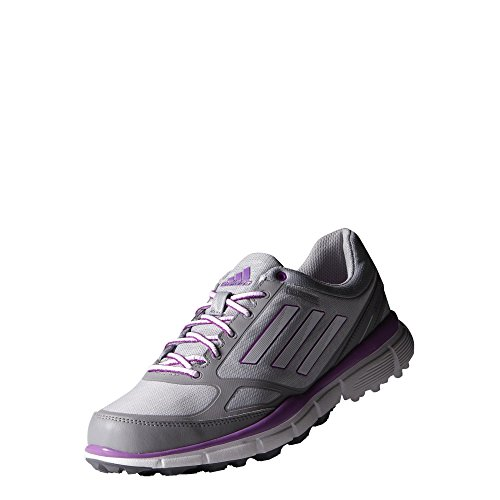 Adidas W Adizero Sport III da donna scarpe–grigio/bianco/rosa, (Clear Onix/White), 4.5 UK