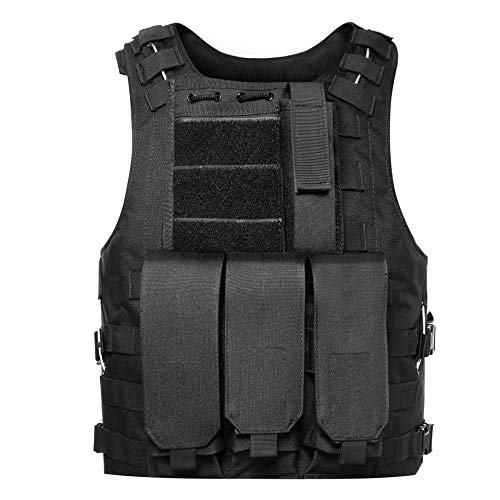 GZ XINXING 100% Full Refund Assurance Tactical Airsoft Vest Black Star Paintball Tank