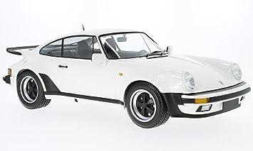 Minichamps - 123066103 - Juego de construcción - Porsche 911 Turbo - 1977 - Echelle 1/12, Color Blanco: Minichamps: Amazon.es: Juguetes y juegos