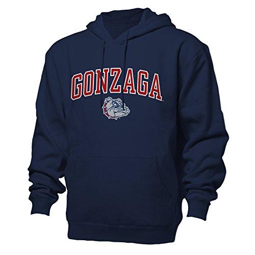 NCAA Gonzaga Bulldogs Benchmark Hood, Navy, Medium ()