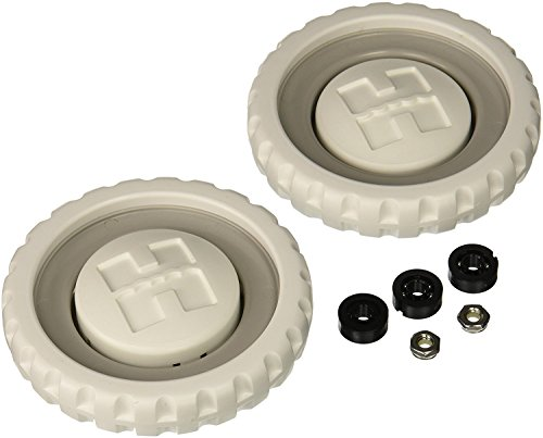 Hayward AX5009A Rear Wheel with Bearings, Nuts and Hubcaps Replacement for Hayward 5500 Viper Automatic Pool Cleaner