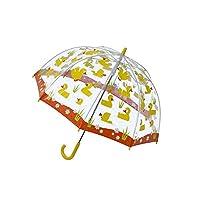 Bugzz Clear Dome Birdcage Kids Duck Umbrella