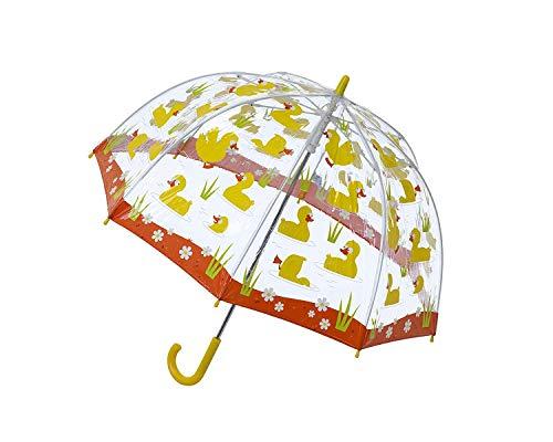 Price comparison product image Bugzz Clear Dome Birdcage Kids Duck Umbrella
