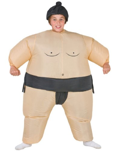Morris Costumes Sumo Kids Costume Inflatable