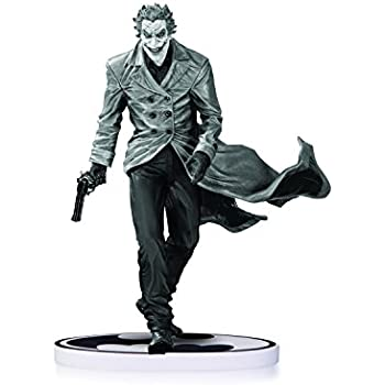 Dc collectibles batman black white the joker statue by lee bermejo second