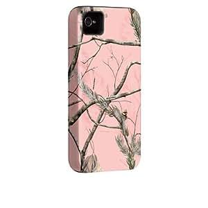 iPhone 4 / 4S Tough Case -Realtree Camo - APC Pink - Olo by Case-Mate