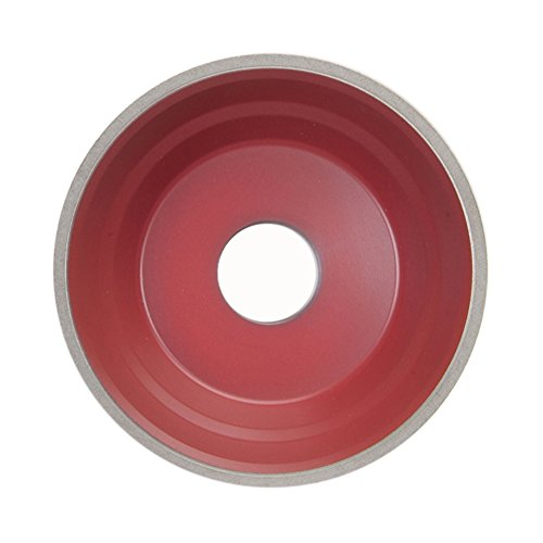 Flaring Cup Wheel, CBN, 5 In Dia, 100 G by Norton Abrasives - St. Gobain