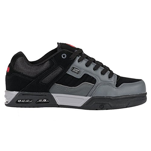 DVS Shoes Enduro Heir, Scarpe da Skateboard Uomo CHARCOAL BLACK NUBUCK