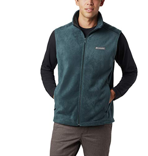 Columbia Men's Steens Mountain Vest, Night Shadow, Large