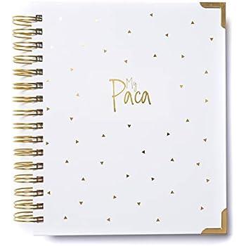 Amazon.com : Mi Paca Planner Undated Agenda - Organizer and ...