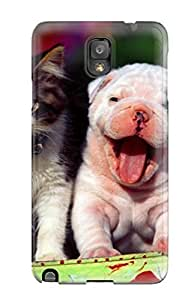 For Galaxy Note 3 Protector Case Halloween Cat Phone Cover