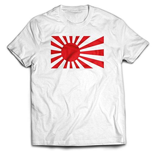 - Japan Navy Rising Sun Flag T-Shirt, Large, White