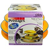 Petstages Cat Tracks Cat Toy - Fun Levels of Interactive Play - Circle Track with Moving Balls Satisfies Kitty's Hunting…