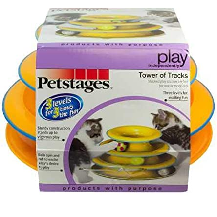 Petstages Cat Tracks Cat Toy – Fun Levels of...