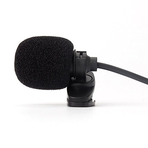 Lapel Microphone Clip - TOOGOO(R)3.5mm Hands Free Computer Clip on Mini Lapel Microphone