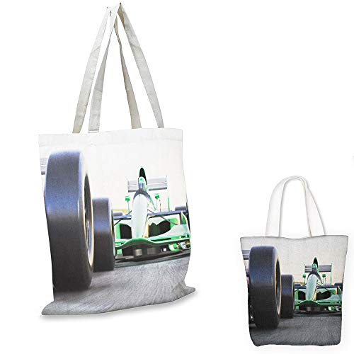 shopping tote Cars Sports Theme Indy Cars on an Asphalt for sale  Delivered anywhere in USA