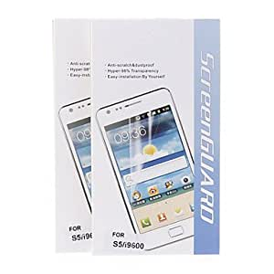 Samsung S5 I9600 compatible Scratch Proof/High Transparency/Dustproof Screen Protector