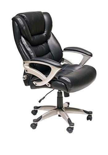 Ordinaire Serta Executive High Back Chair, Black