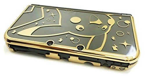 Hori Protector (HORI Pikachu Premium Gold Protector for New Nintendo 3DS XL Officially Licensed by Nintendo & Pokemon)