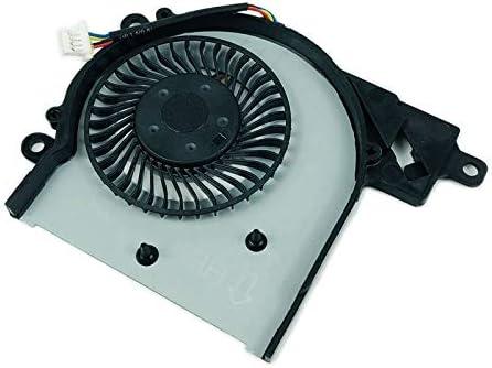 Senmubery Ventilador De Enfriamiento De La CPU De Ordenador Port/átil 15-AC 15-A 15-AF 250 G4 15-Ac121Tx 15-Ac121Dx 813946-001 Dc28000Gaf0Fcc2 Dfs561405Fl0T Radiador Enfriador